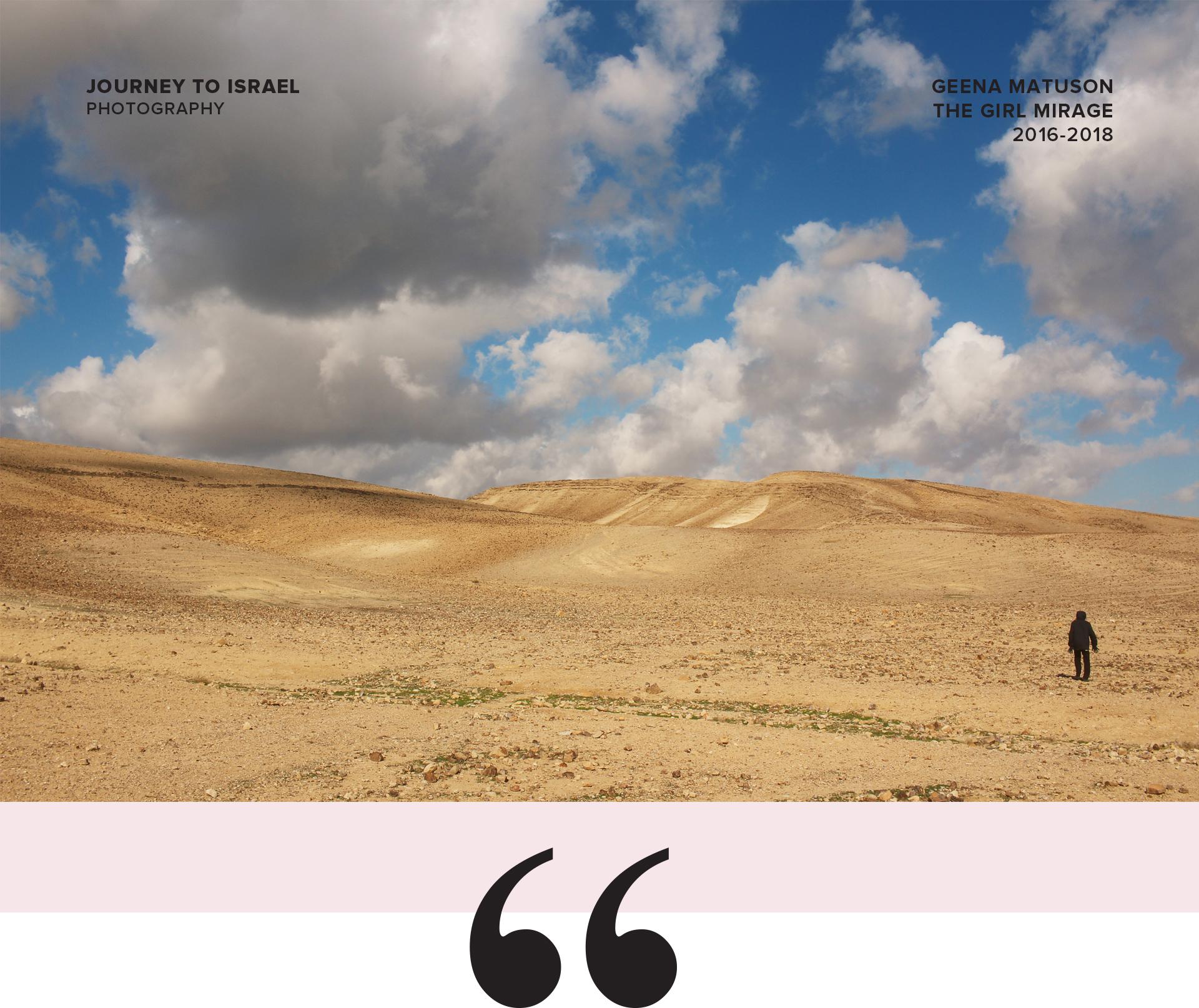 Israel's Negev Desert in Winter / Travel photography by Geena Matuson @geenamatuson #thegirlmirage