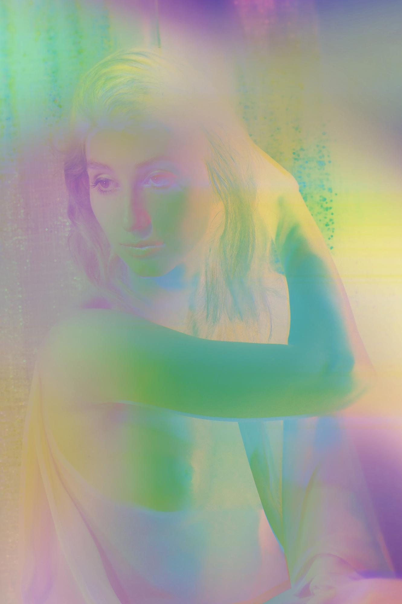 "Artwork ""Polyphony"" part of series ""The Girl Mirage"" by Geena Matuson @geenamatuson #thegirlmirage. See more @ https://thegirlmirage.com."