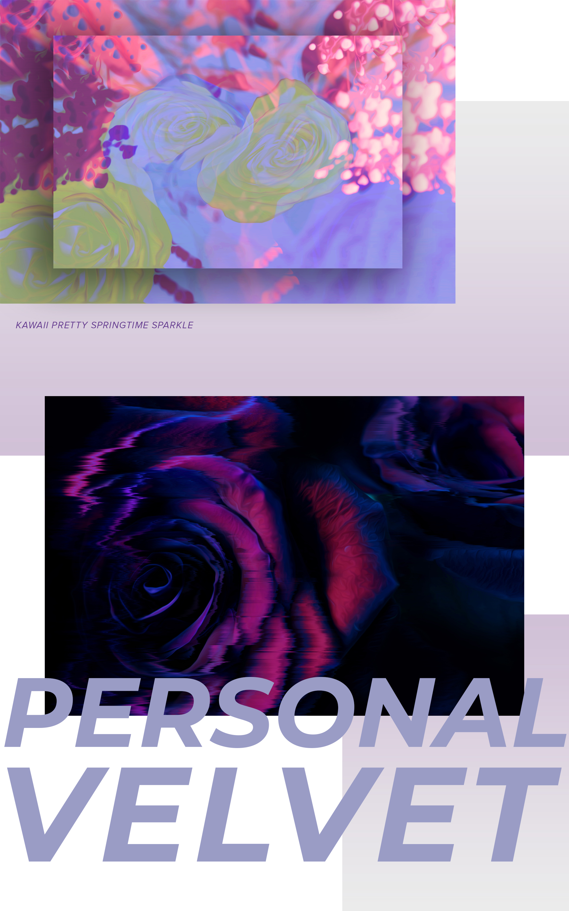 "Artwork ""Personal Velvet"" part of series of art prints ""Flower Daze"" by Geena Matuson @geenamatuson #thegirlmirage. See more @ https://thegirlmirage.com."