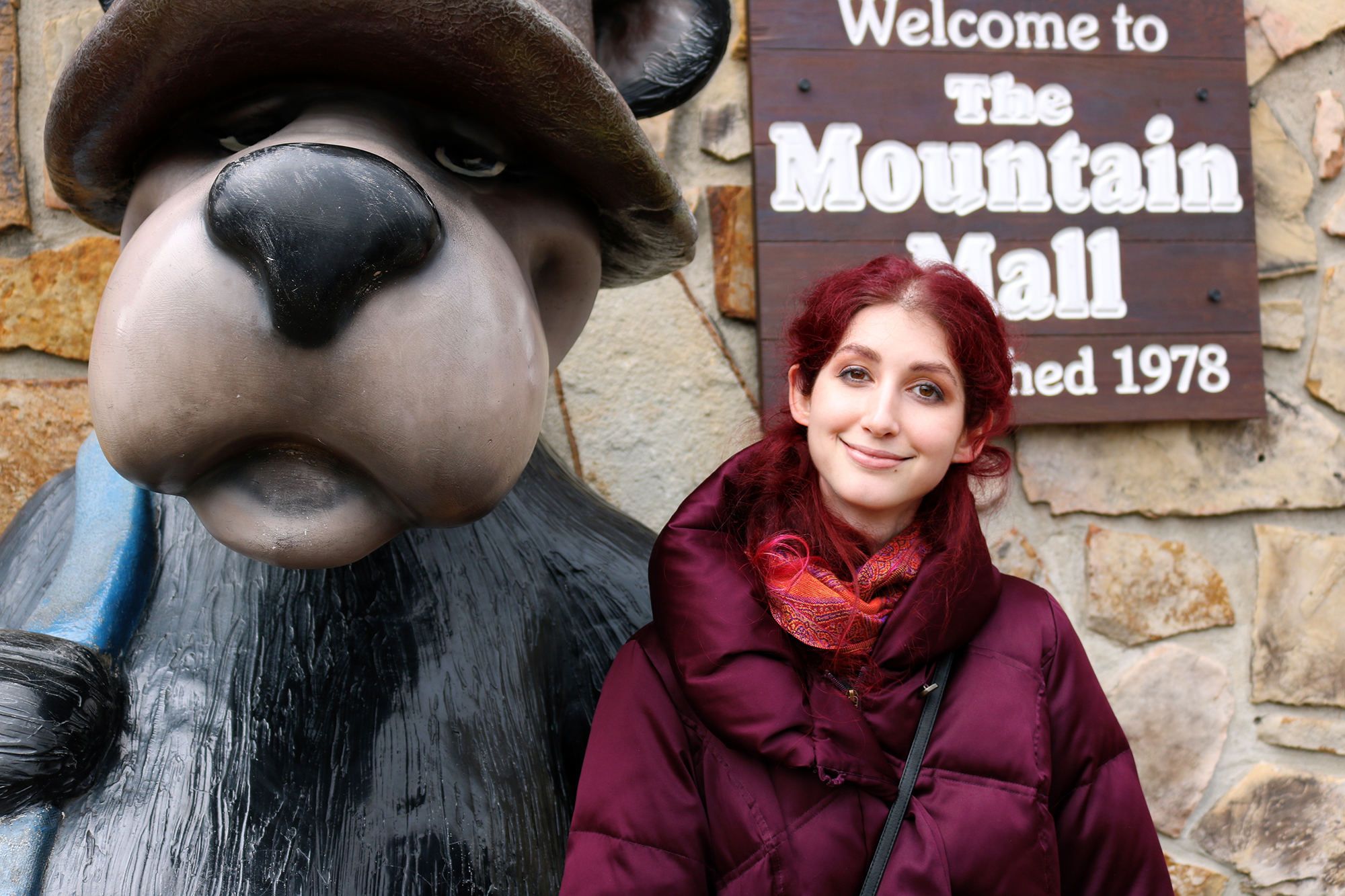 Geena Matuson (@geenamatuson) at The Mointain Mall on Parkway in Gatlinburg, TN, March 2018.