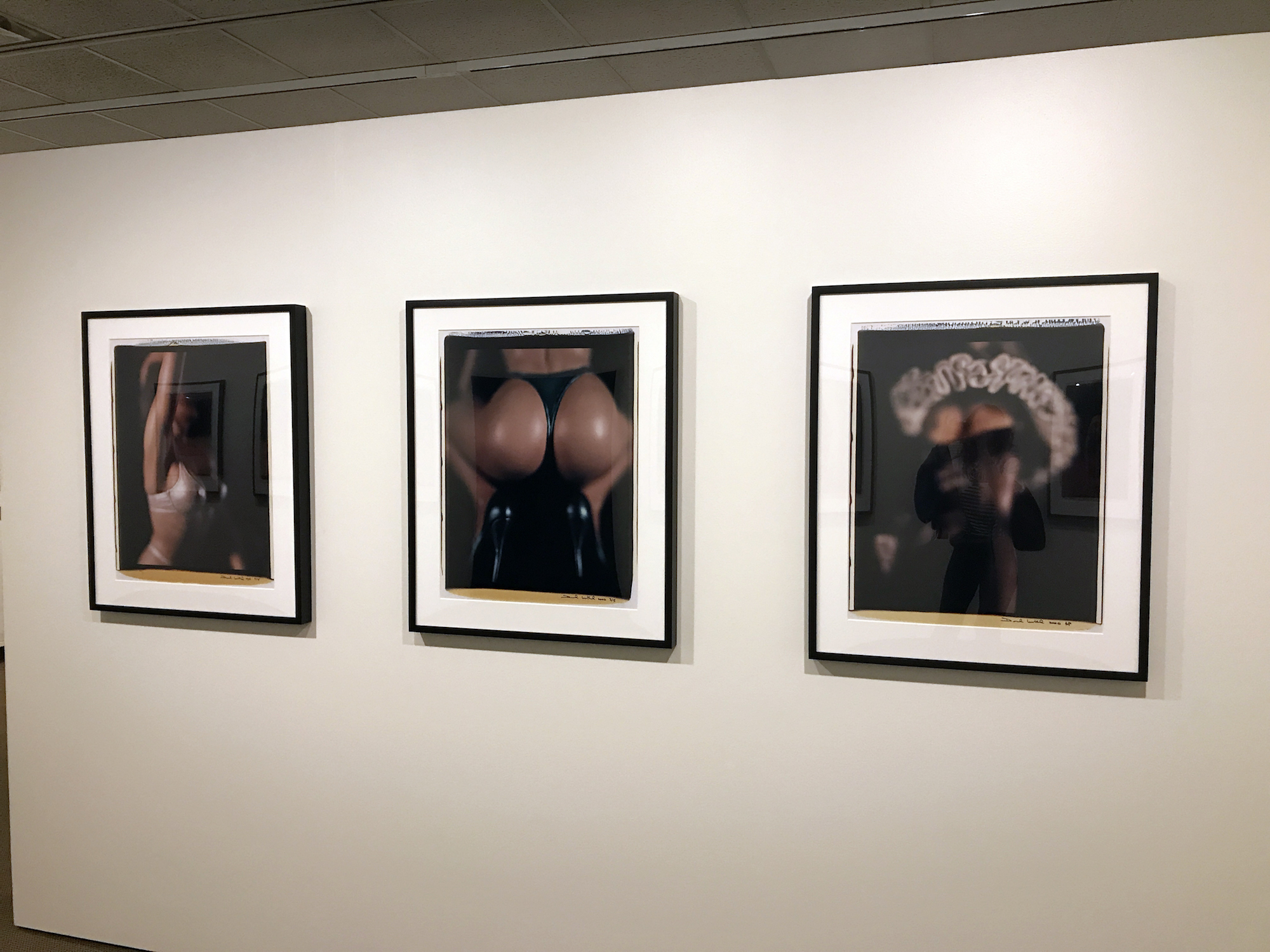 "Photography by David Levinthal as part of his series ""XXX"" at George Eastman Museum in Rochester, NY, 2018. Photo by Geena Matuson (@geenamatuson)."