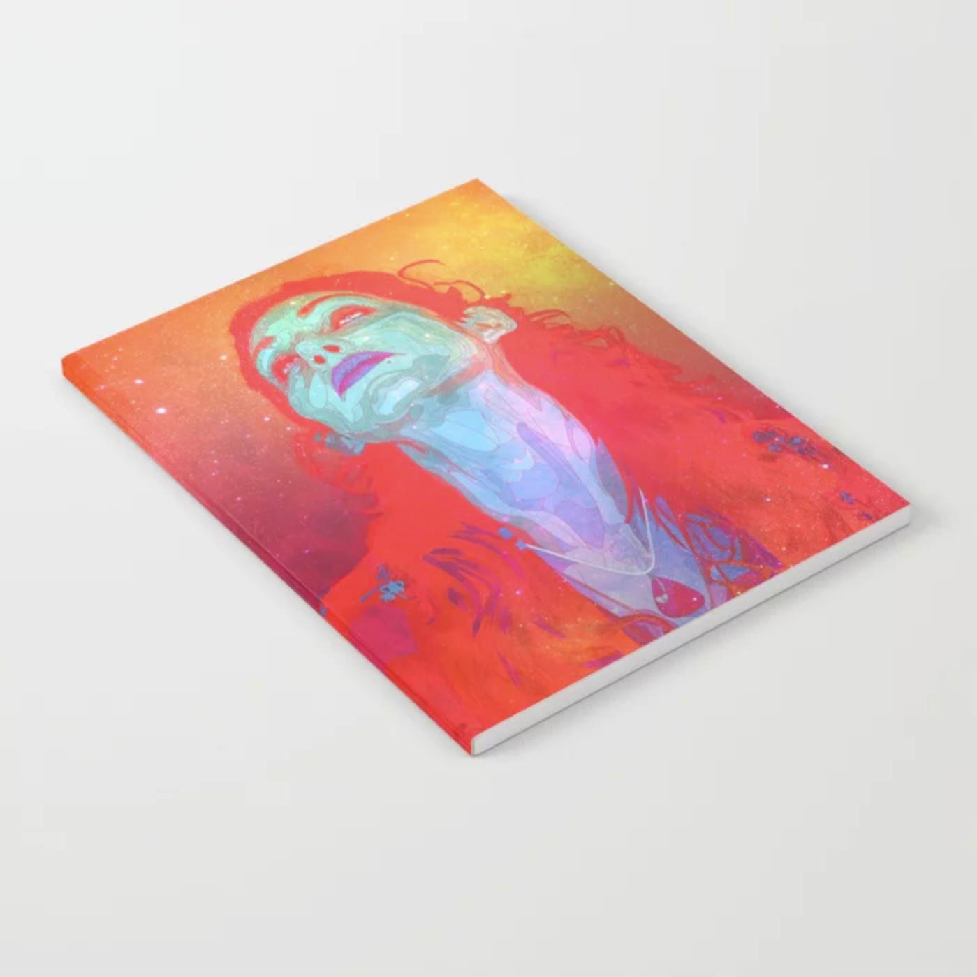 "Geena Matuson's (@geenamatuson) art ""Grow Galactic"" printed on demand in her online shop @ thegirlmirage.com."