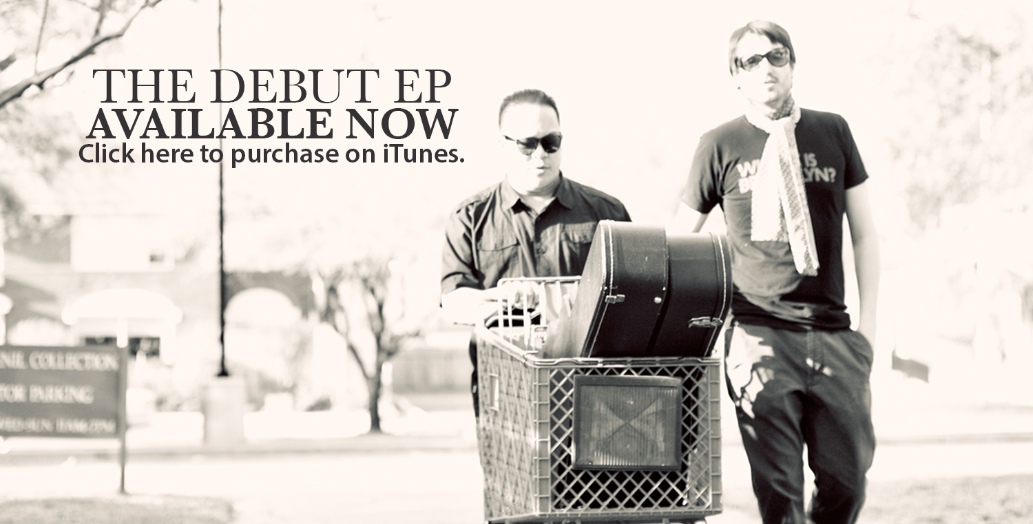 FAKIN' IT's self-titled debut EP is available on iTunes , CD Baby ,  Spotify , Google play and Amazon MP3 .
