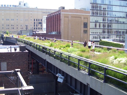 [The High Line, New York City]