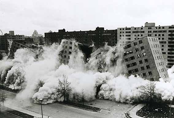 Pruitt-Igoe Housing Project, St. Louis
