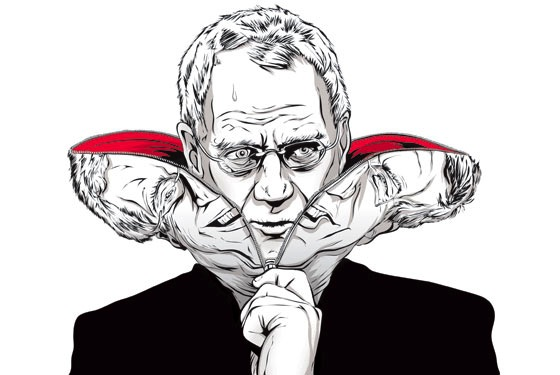 The Devil in David Letterman by Robert Kolker for New York Magazine