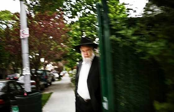 On the Rabbi's Knee by Robert Kolker for New York Magazine
