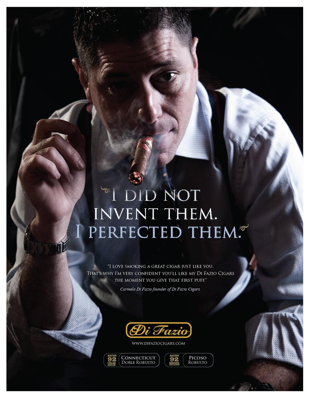 BARROCO_Cigar Aficionado Ad campaign