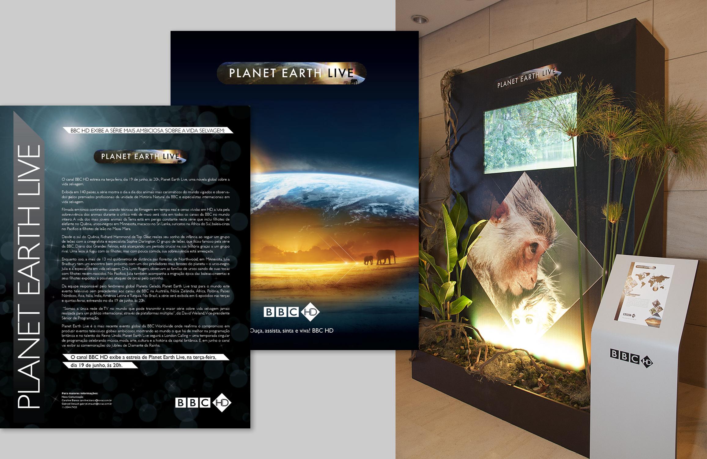 PLANET EARTH LIVE Brasil