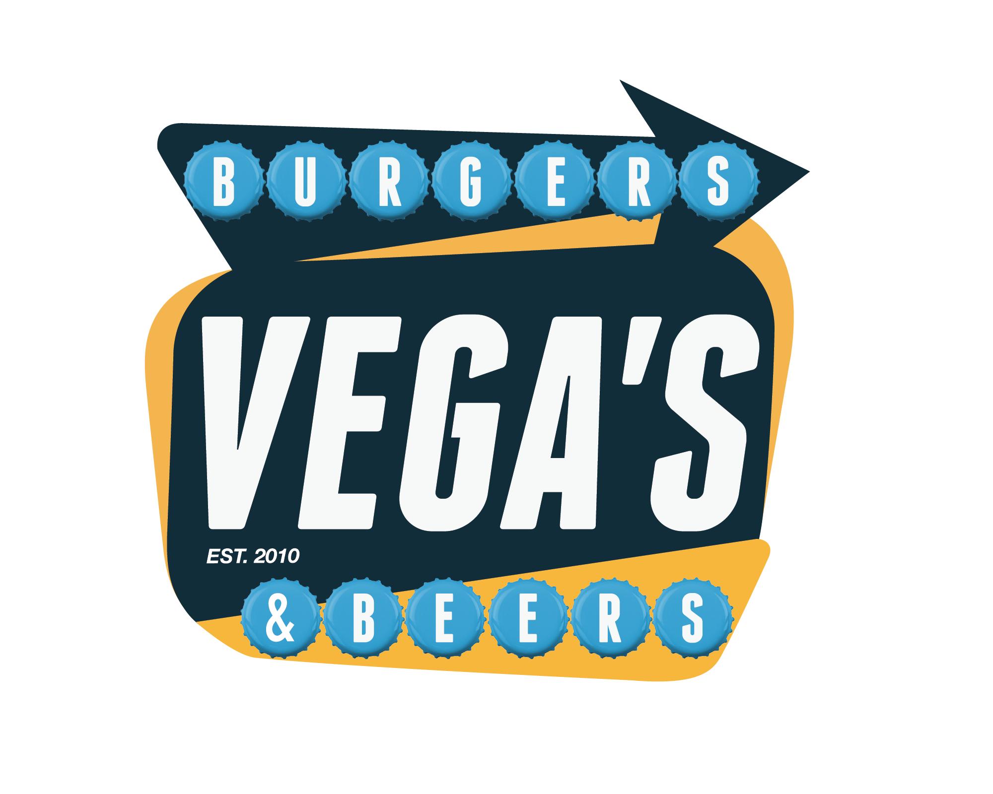 VEGA'S Burgers & Beers. Branding