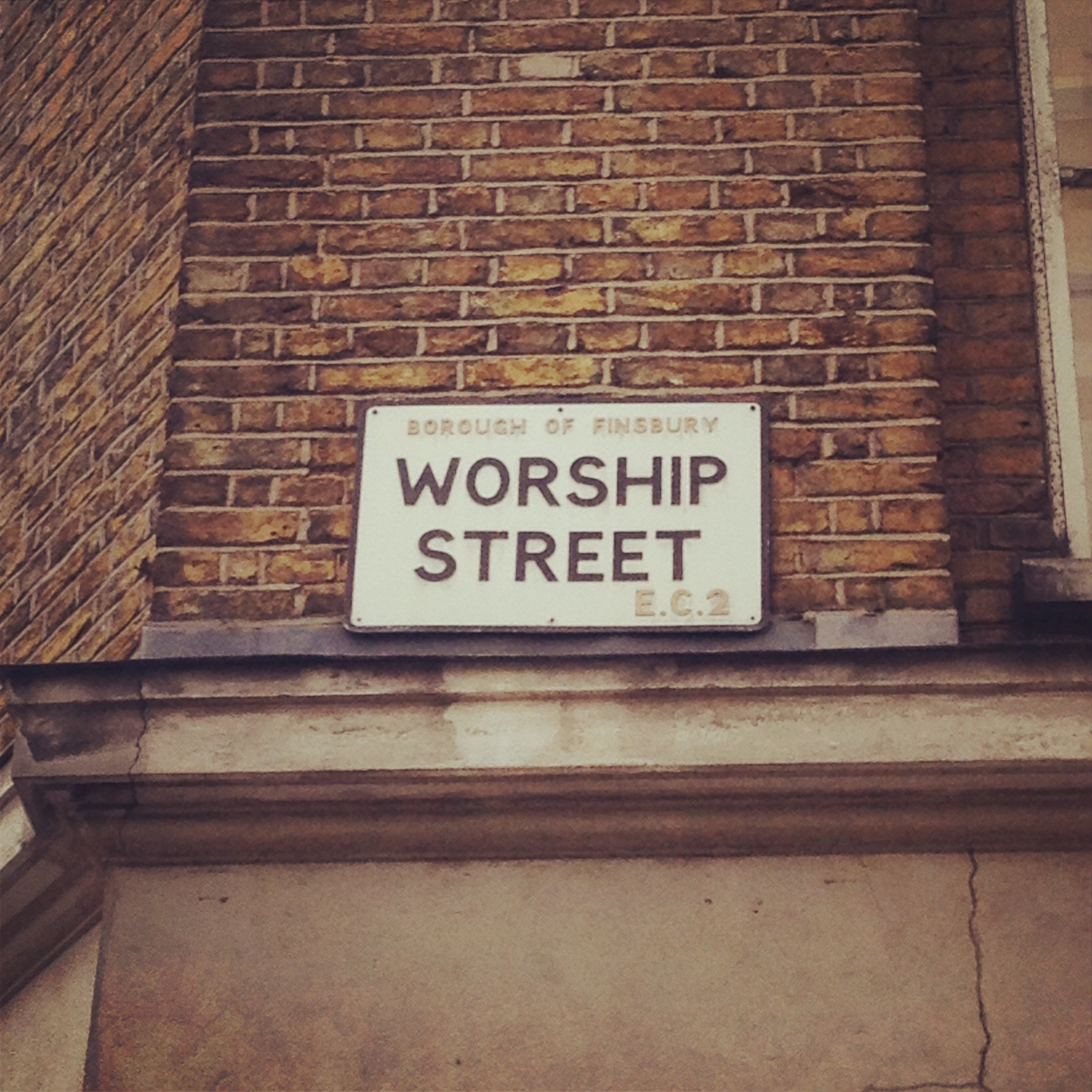 Sing it loud! Round the corner from Kitten street - best London street names