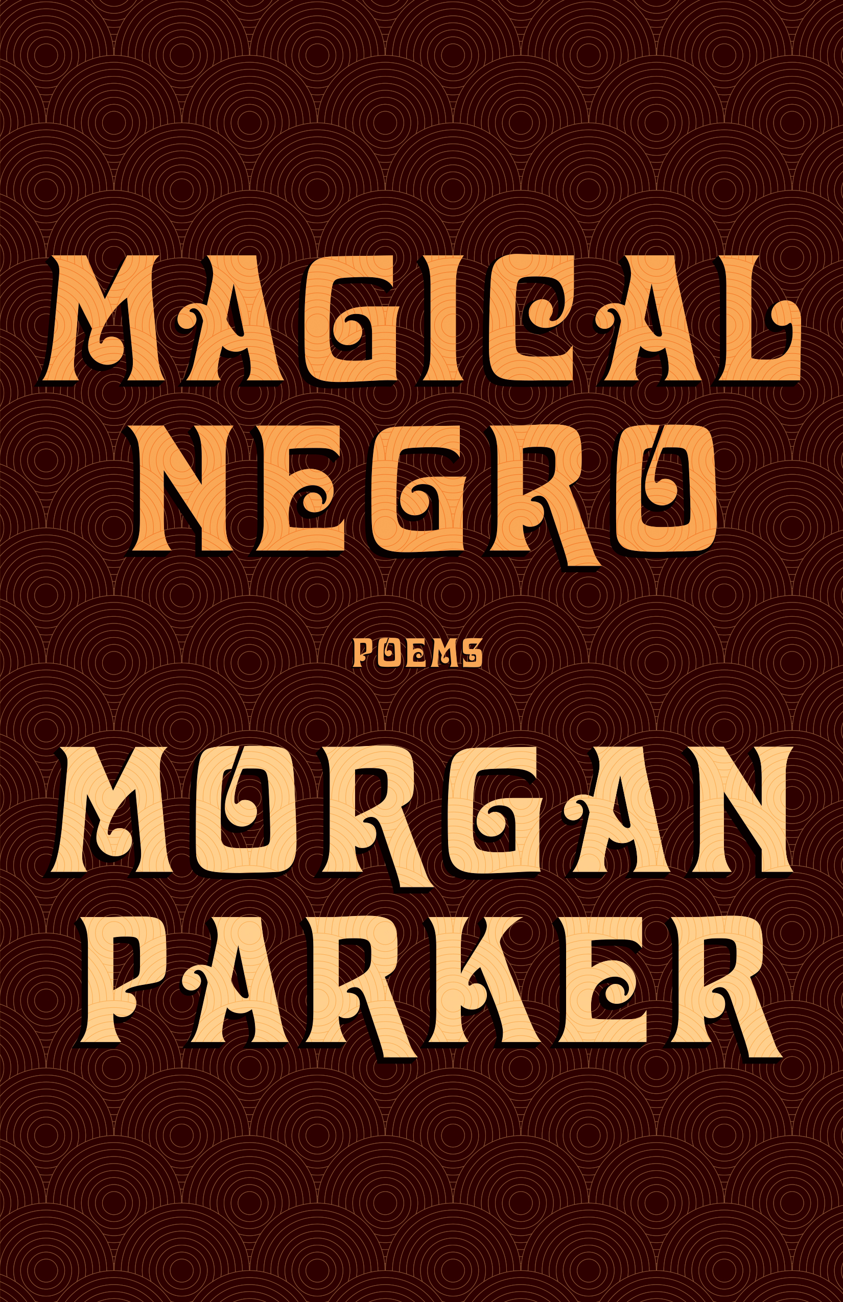 "magical negro - Poetry. Tin House, 2019.An archive of Black everydayness. Both elegy and jive, joke and declaration, songs of congregation and self-conception.""If you're anxious for your snug perspective to be rattled and ripped asunder, for the predictable landscape you stroll to become all but unrecognizable, for things you thought you knew to slap you into another consciousness―brethren, have I got the book for you. Bey's bestie continues her reign with this restless, fierce, and insanely inventive way of walking through the world. Once again, children―ignore Ms. Parker at your peril."" ―Patricia Smith"
