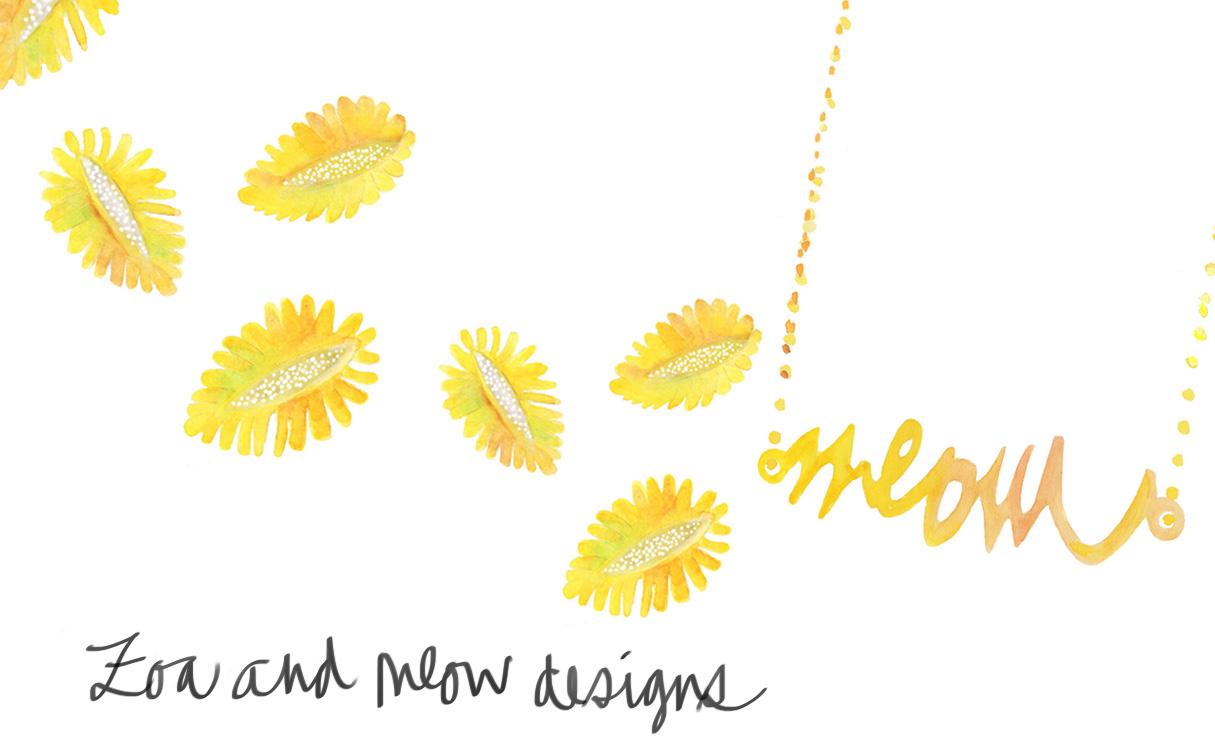Jewelry illustrations by Naomi Yamada