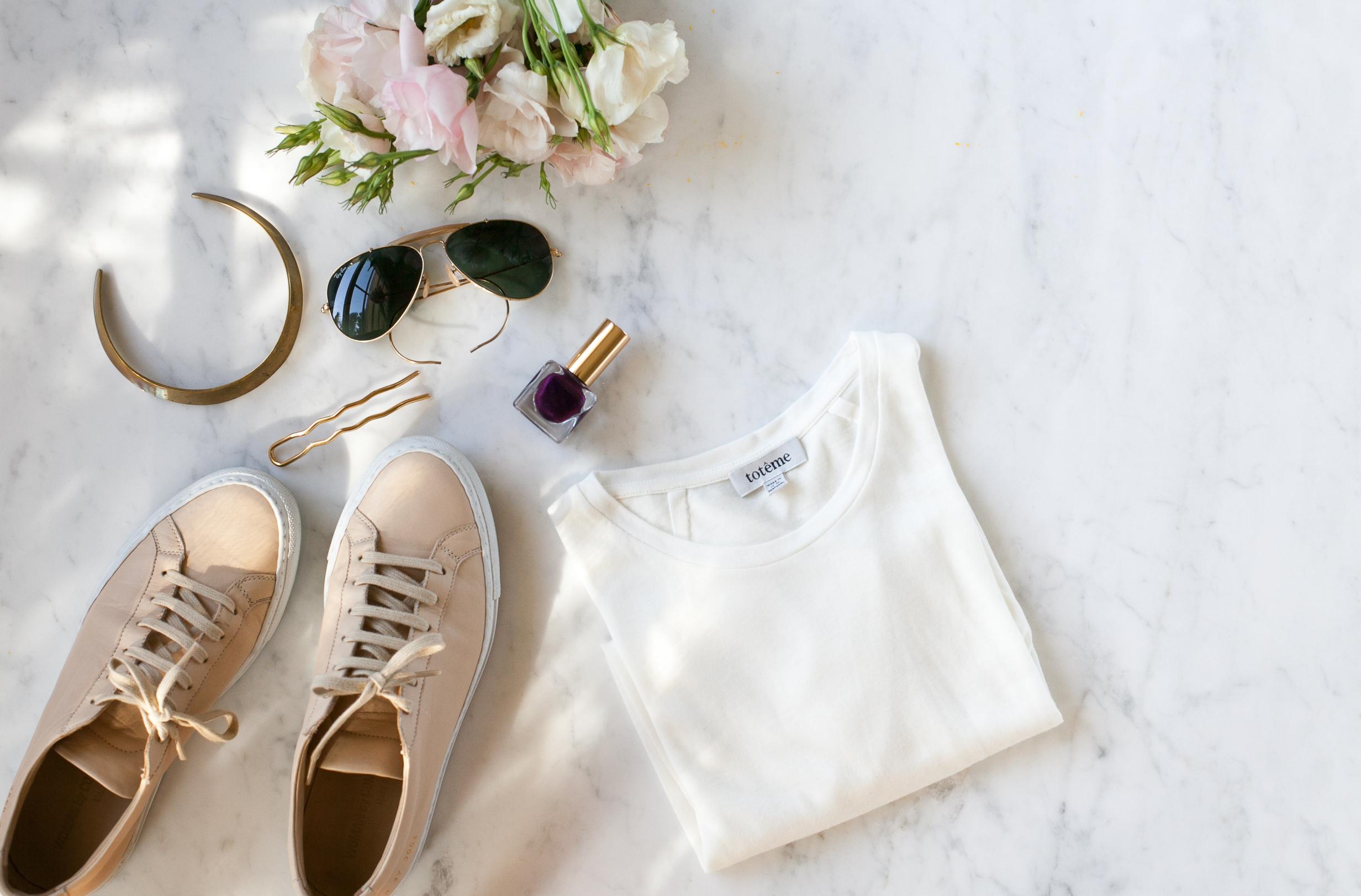Summer neutrals by Naomi Yamada