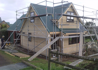 This was a very unique project. Building to match an existing house requires a specialised skill set.