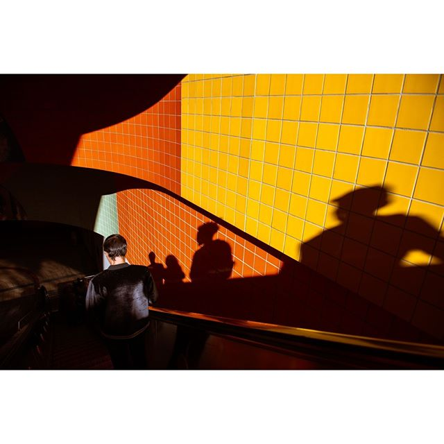 As a photographer you pay attention to light, how it impacts the environment around you. Having harsh light isn't ideal but on this day the harsh sun painted the colorful tiles with the shadows of my fellow commuter riders.⠀ ⠀ ⠀ #California #LosAngeles #subway #shadow # light #colors #Cali #Calilife #Travel #Latravel #travelphotography #travelphotographer #wanderlust #adventure #travelmore #lovetotravel #goexplore #wonderfulplaces #roamtheplanet  #adventurelife #wonderful_places #amazingplaces #travelgram #instago #passportready #ilovetravel #instatravelling #instapassport⠀ #travelpics #photooftheday