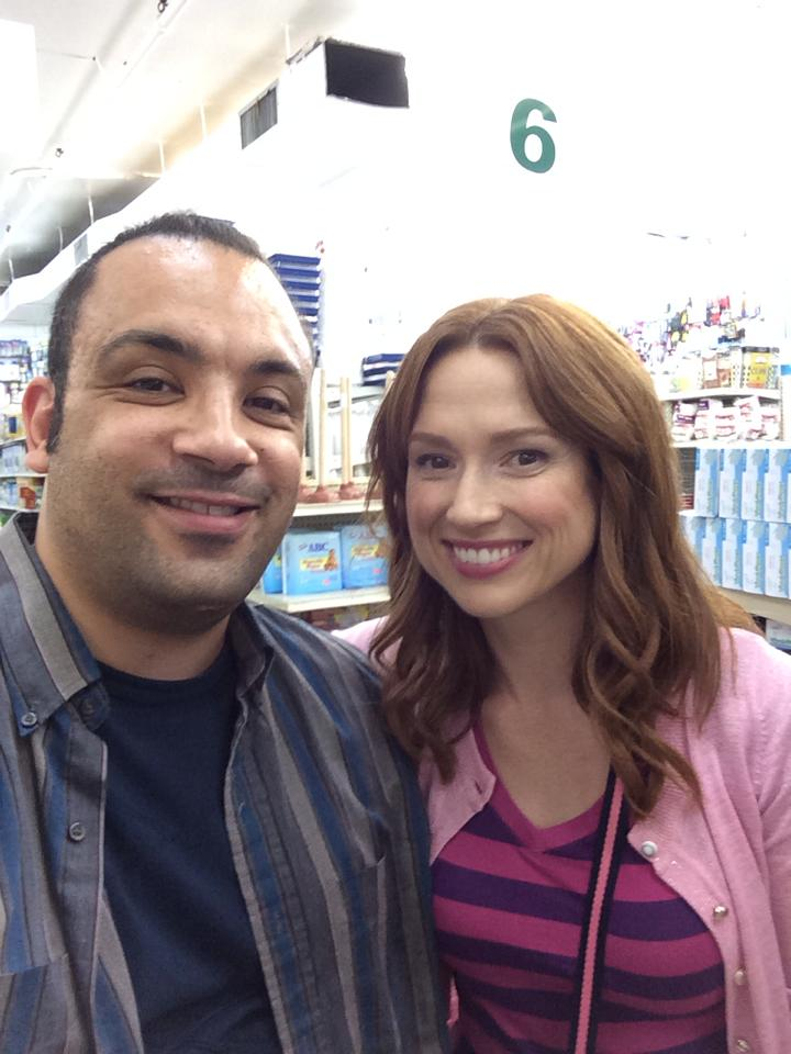September 2015:  Unbreakable Kimmy Schmidt   Osh just wrapped an episode on the hit Netflix TV series,  Unbreakable Kimmy Schmidt , starring Ellie Kemper.