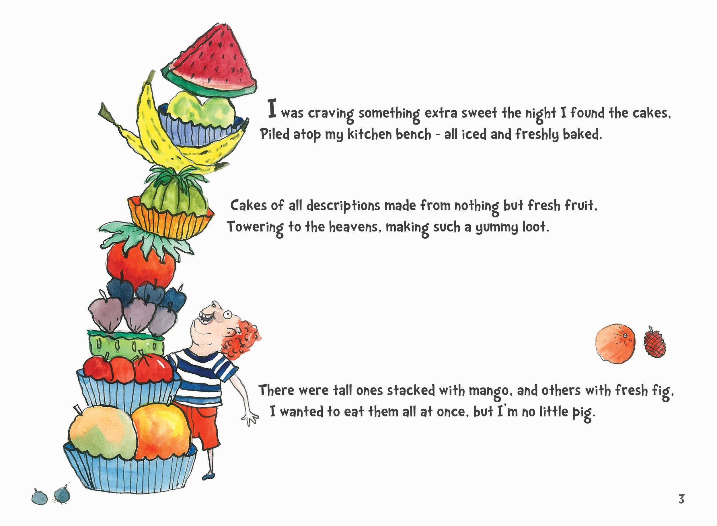 First page of Watermelon Cupcake Rhyme