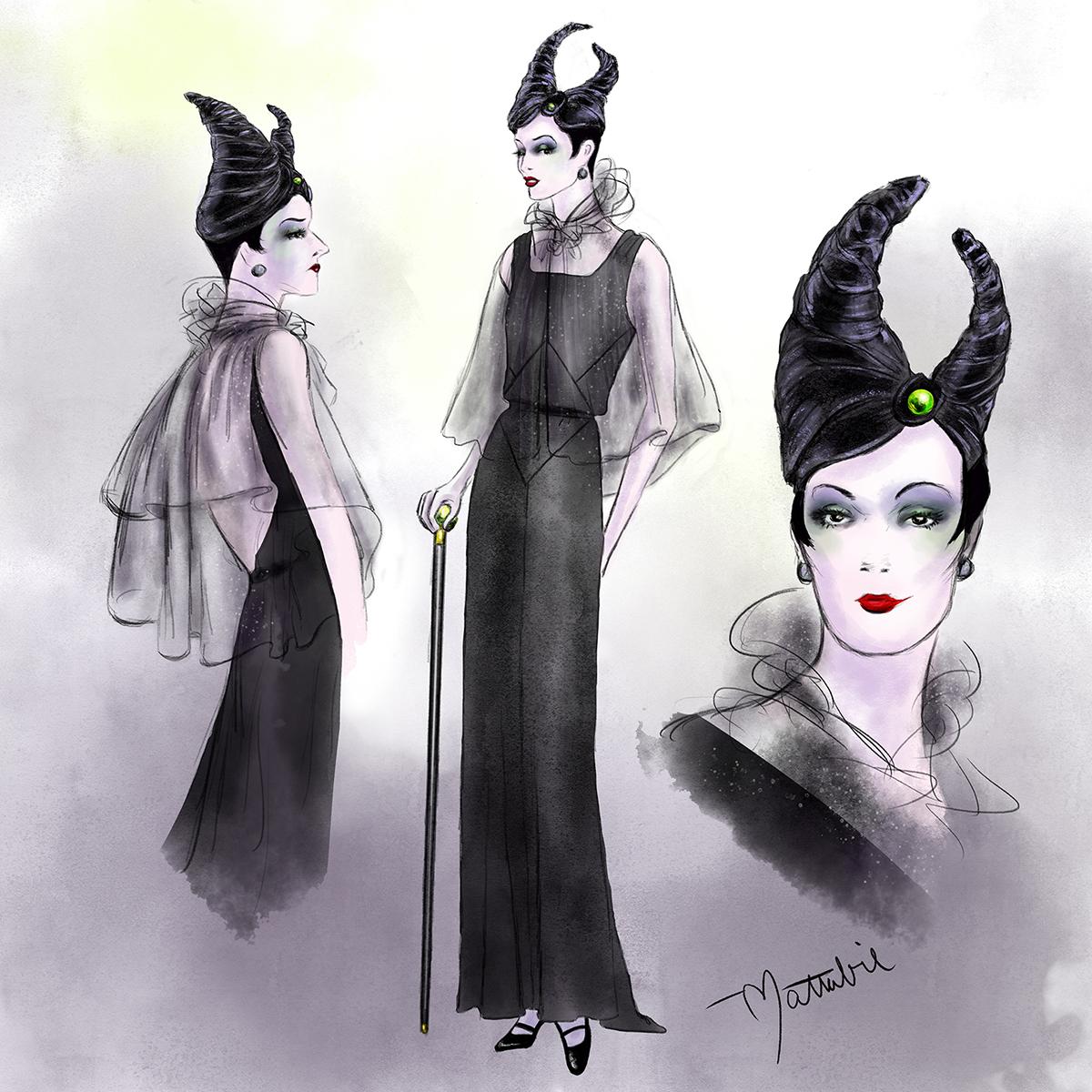 Mattabie_DDB_30s Maleficent.jpg