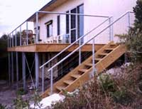 H3 Treated Stairs