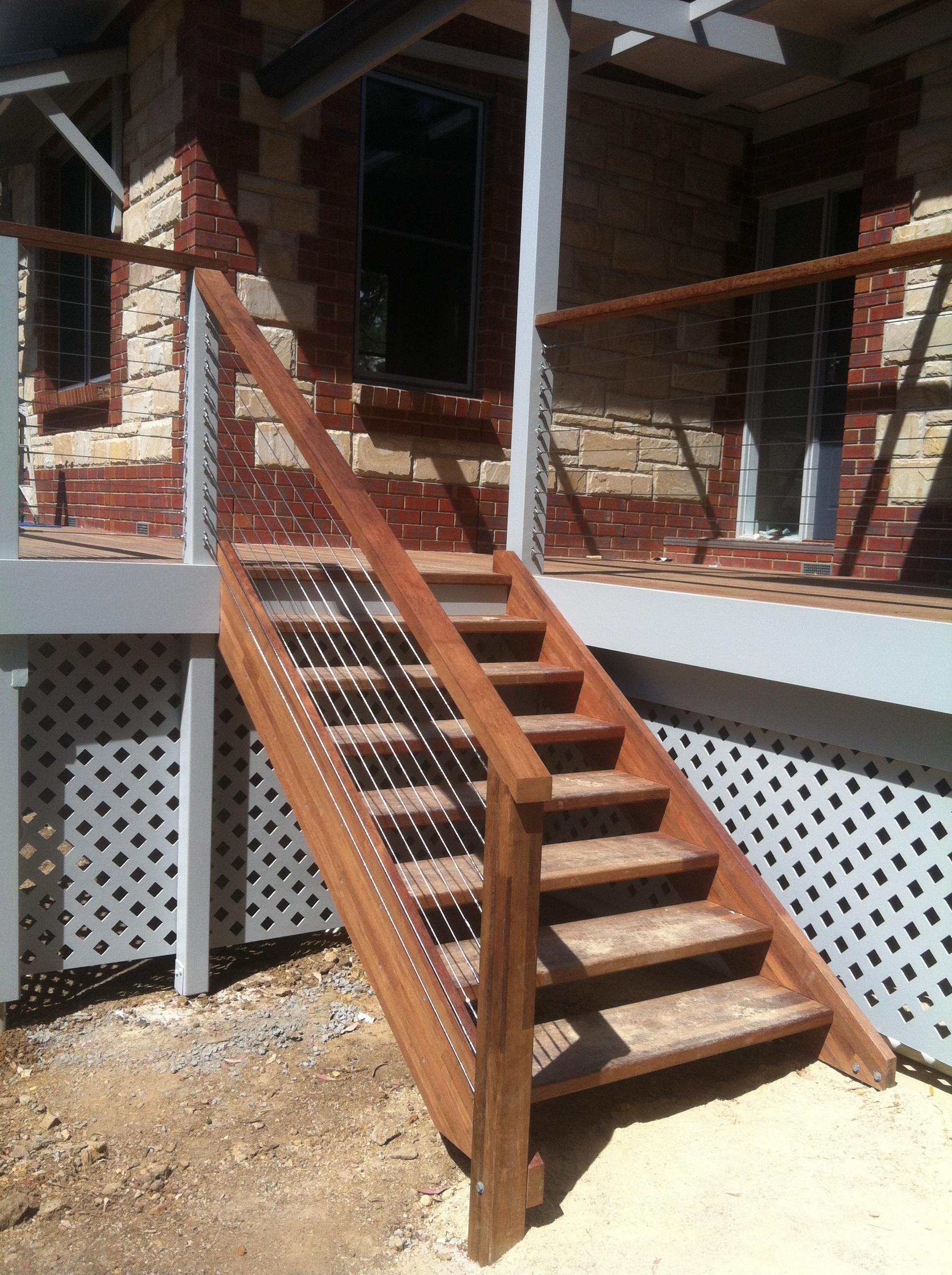 Merbau Stairs 2013