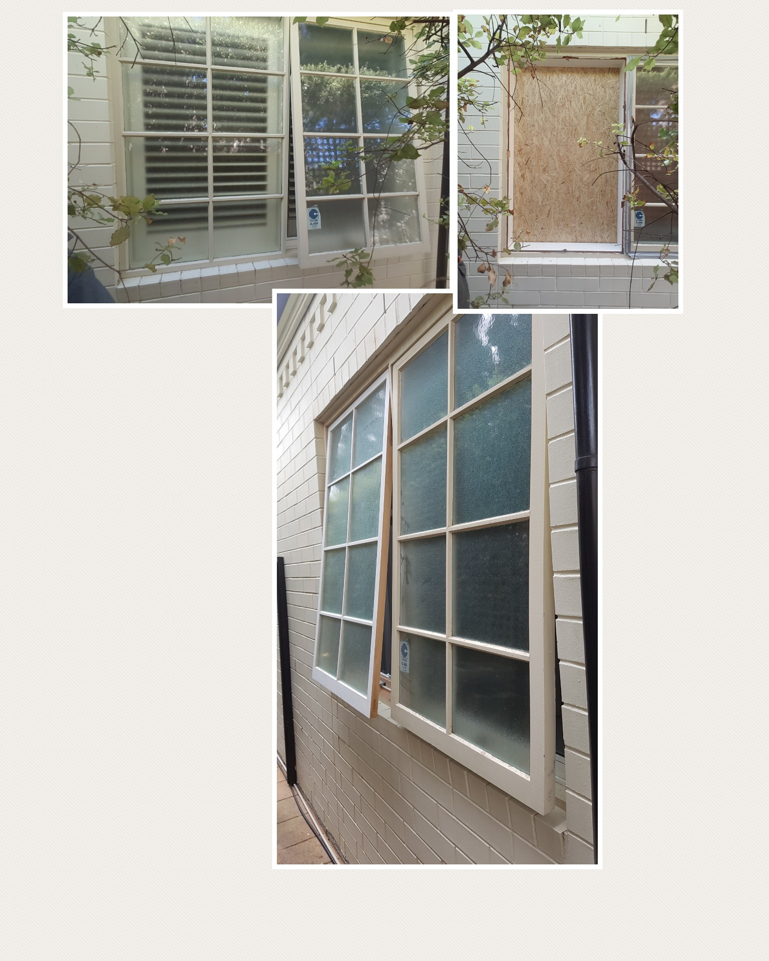 Window alteration : Walkerville