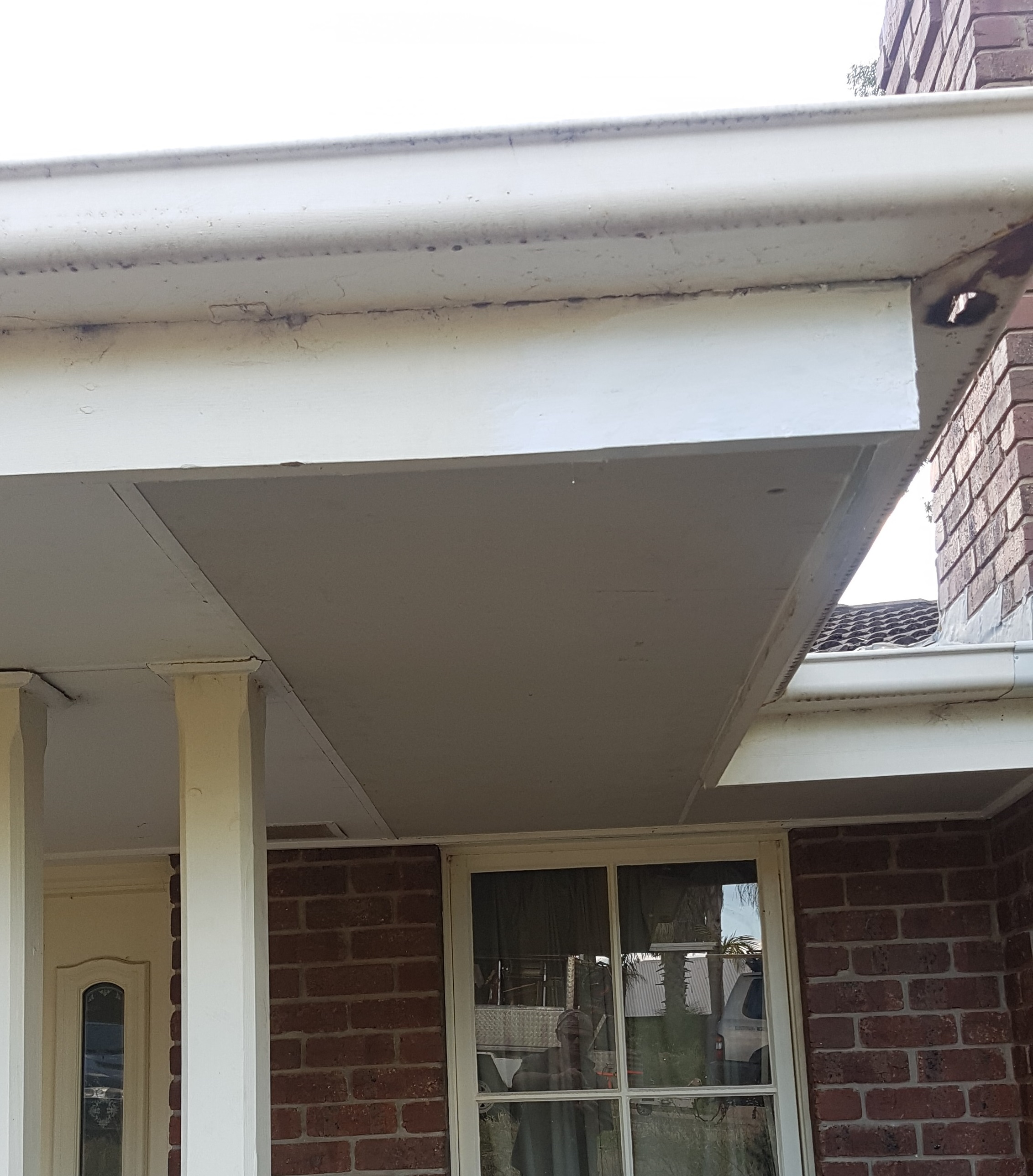 Restore eave sheets