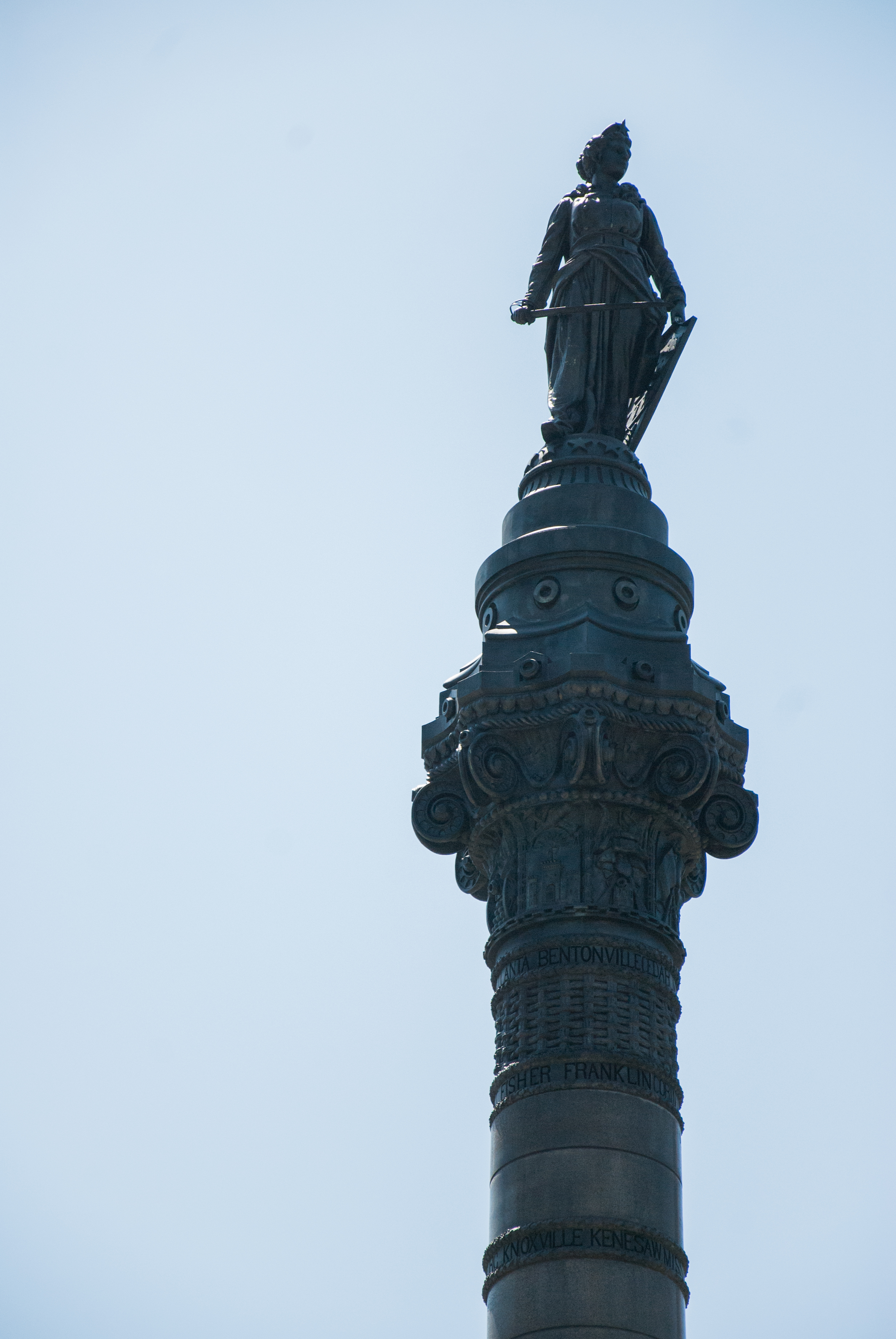 """""""That thing,"""" more commonly known as The Soldiers and Sailors Monument to those in downtown Cleveland."""