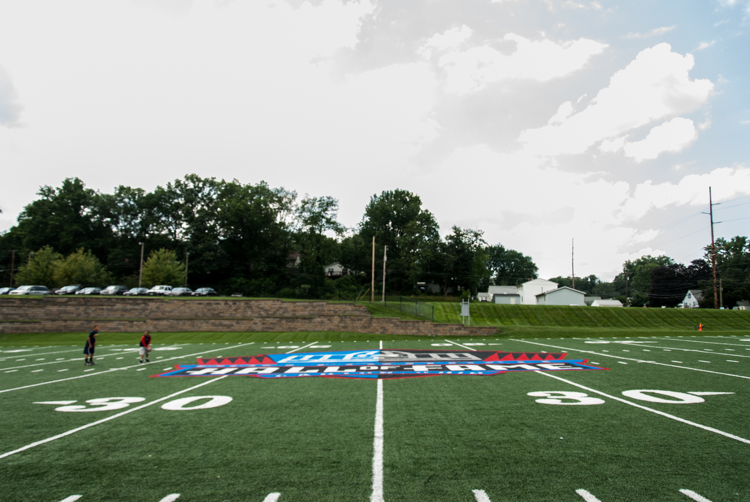 I'd probably be in the Pro Football Hall of Fame, too, if the field was only 70 yards long.