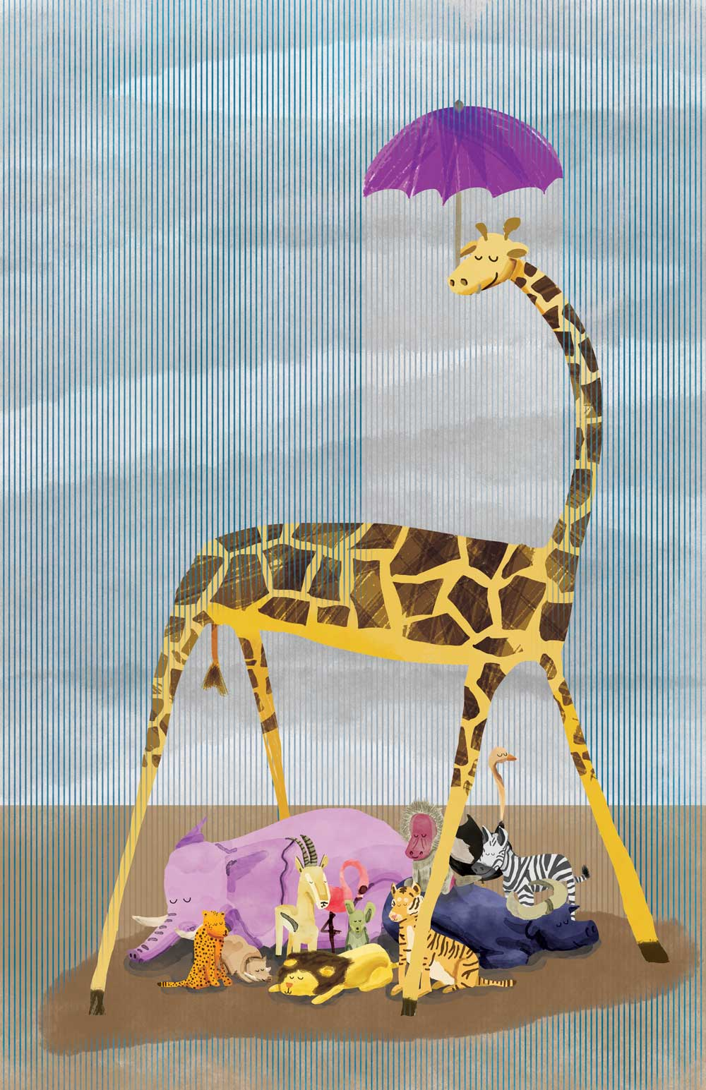 Giraffe and His Friends , 2015