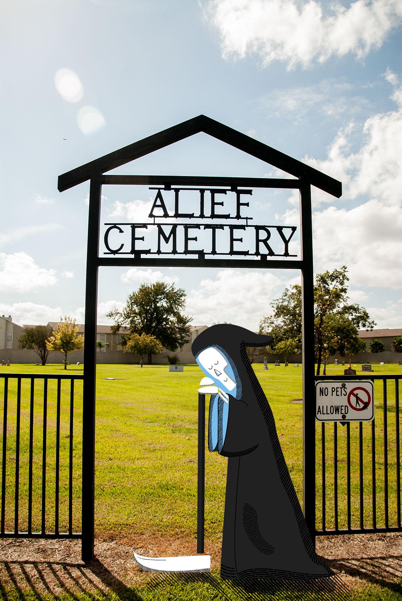 Grim Sleeper . 2018 Alief Cemetery: A Texas landmark