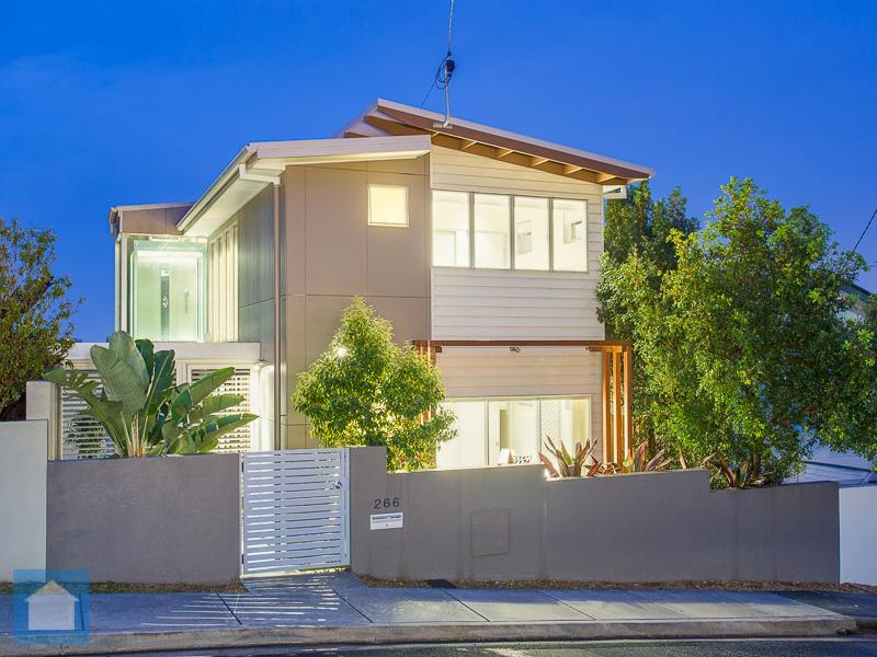 A very modern and contemporary designed home.