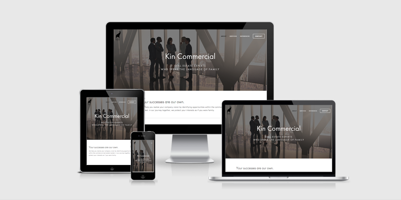 Kin Commercial Website