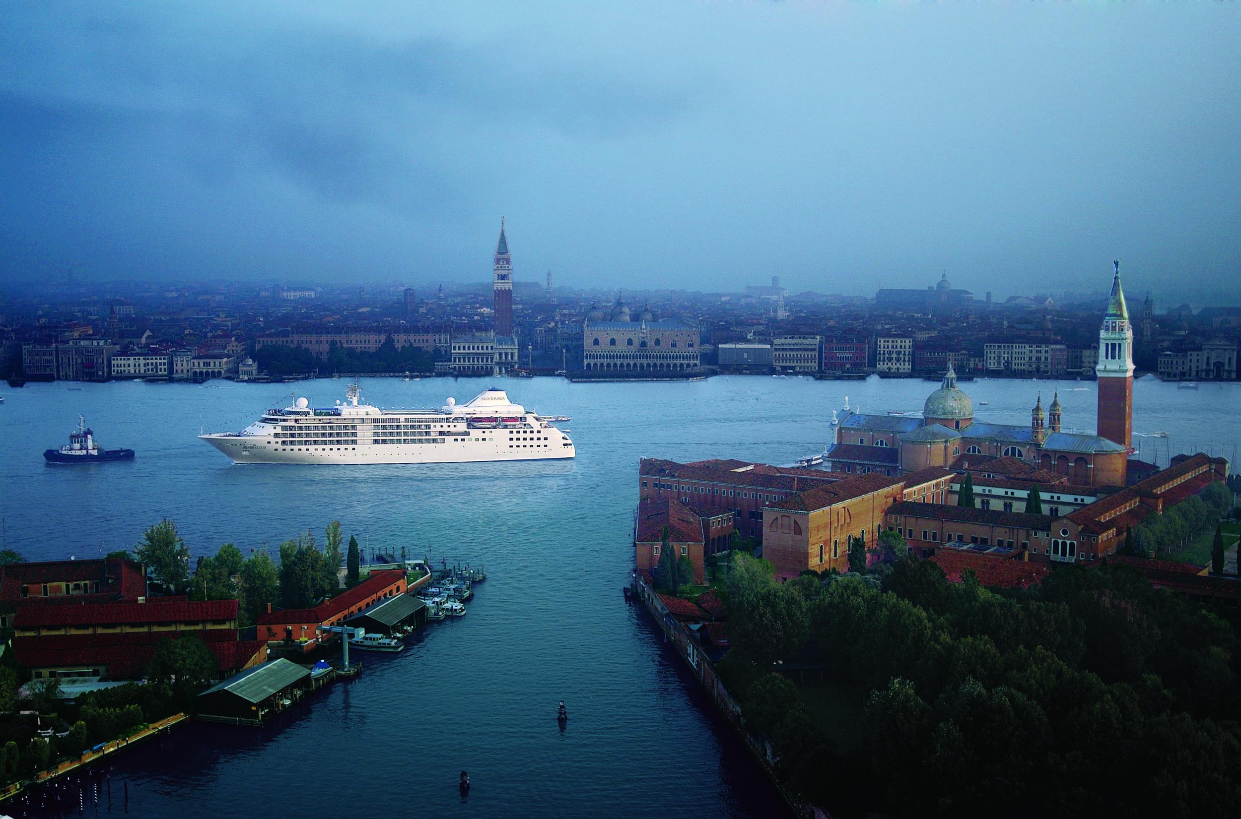 Silversea in Venice