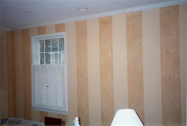 faux wallpaper pattern