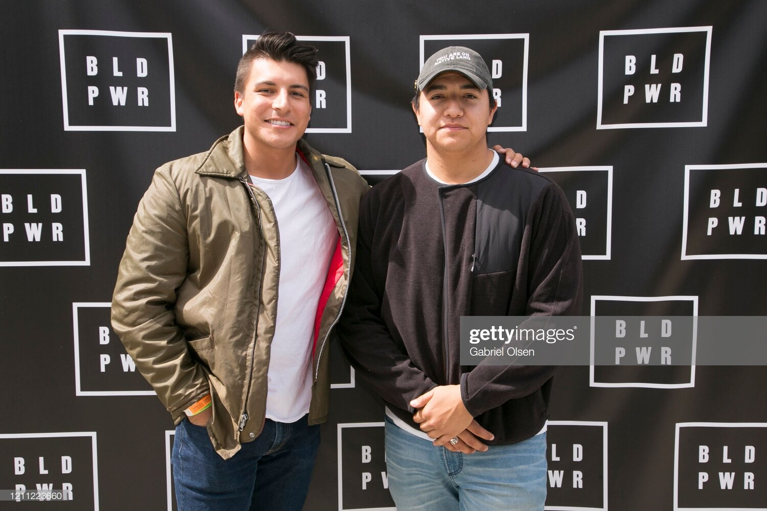 Hud and Joey at Los Angeles event  Photo Courtesy of Gabriel Olsen