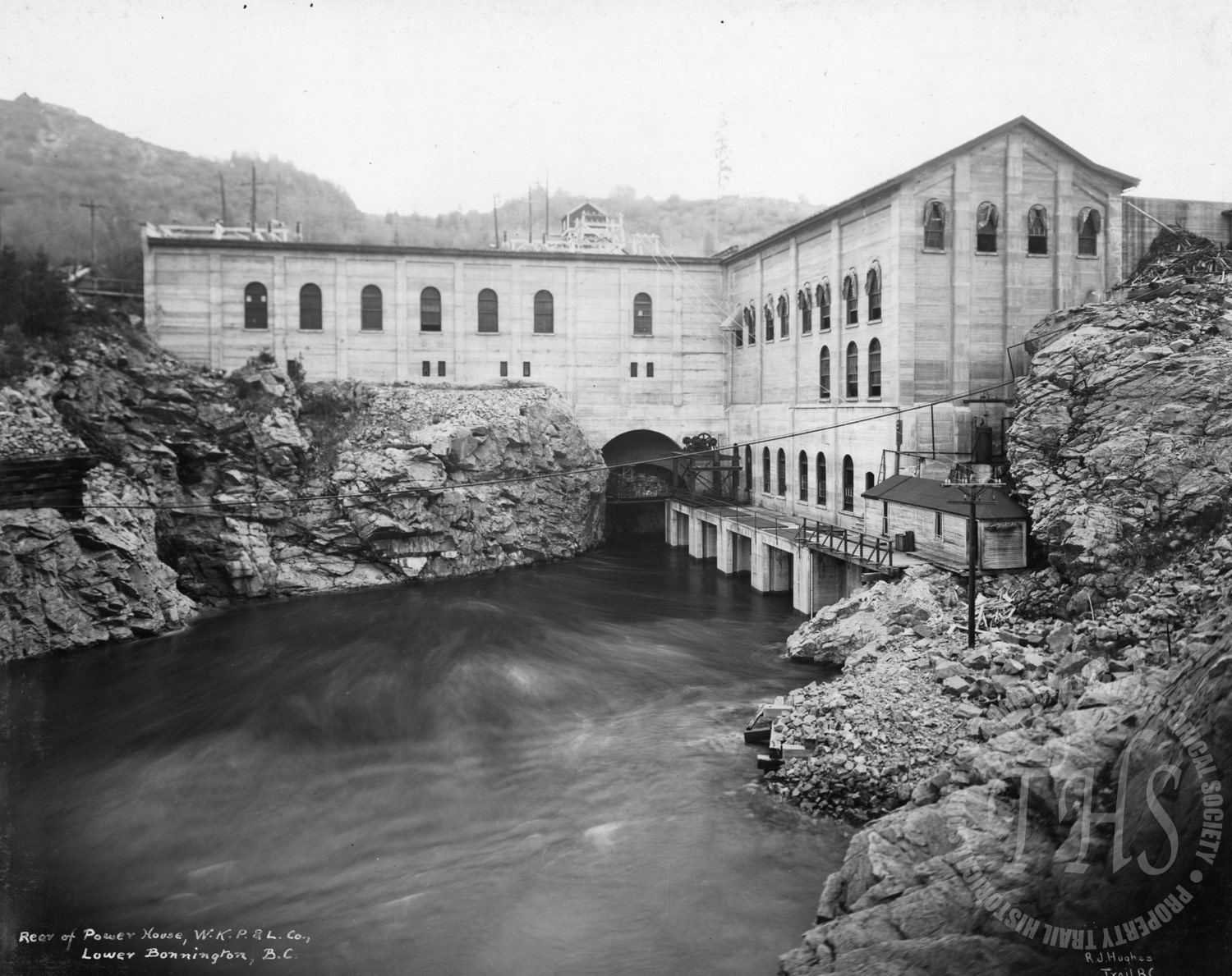 Rear of Powerhouse #2, Upper Bonnington  (Hughes) - 1920