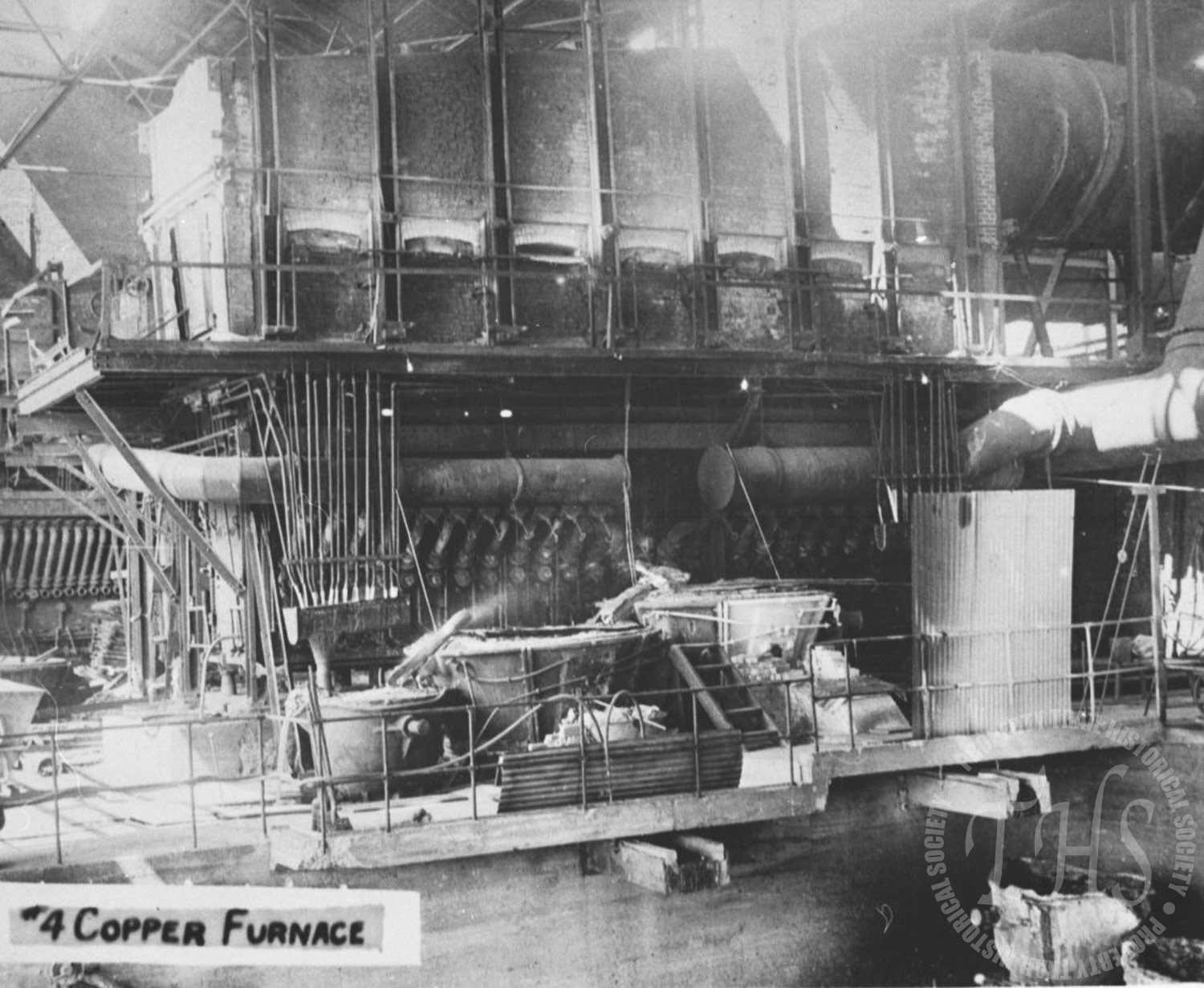 Trail's #4 Copper Furnace (Hughes) - 1920