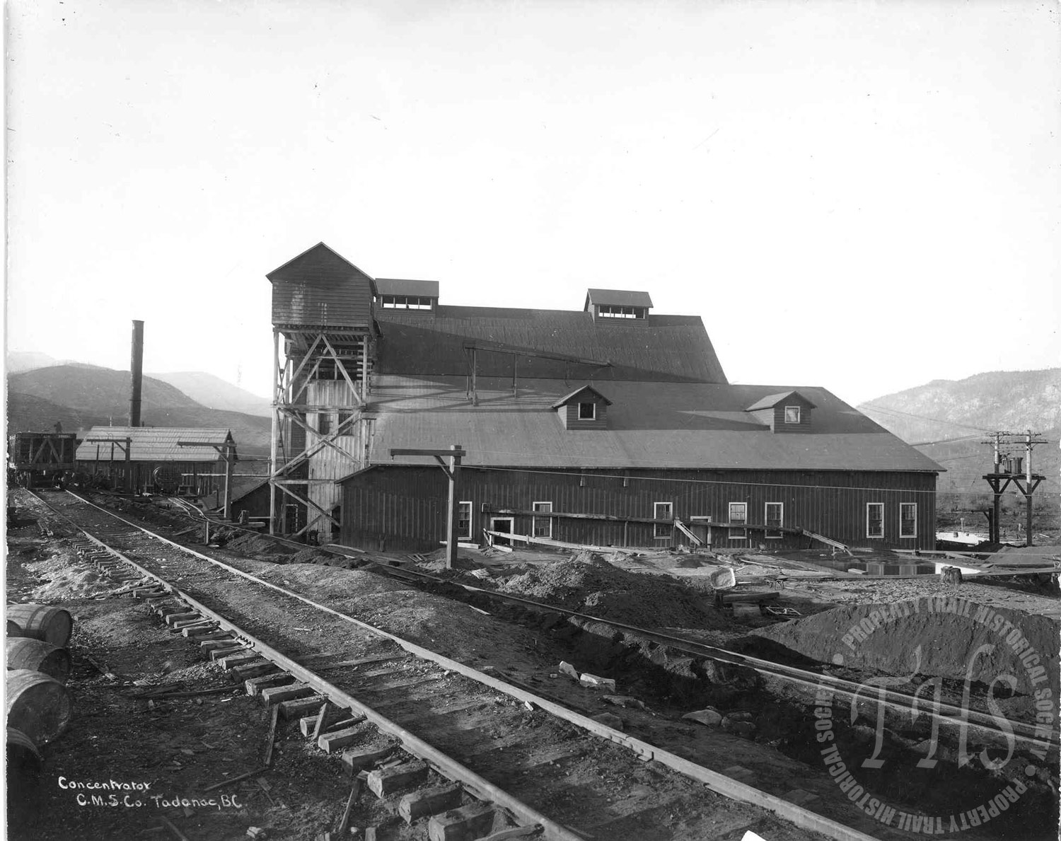 Trail Smelter concentrator (Hughes) - 1920