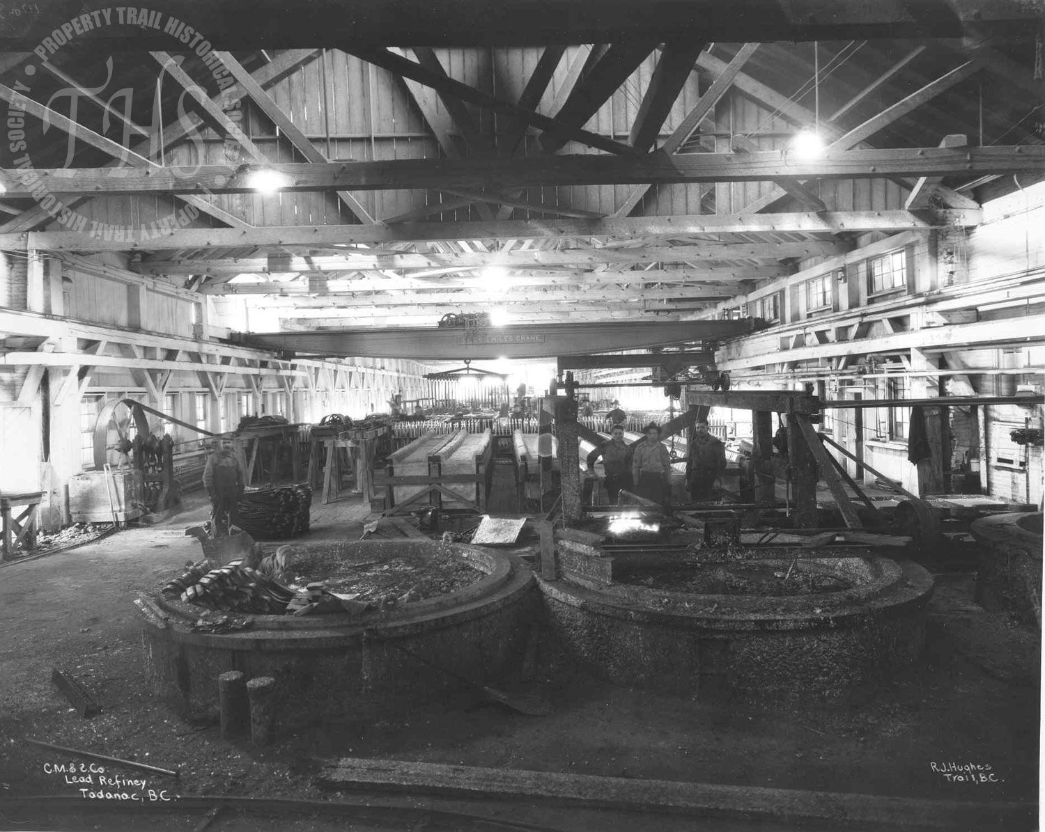Lead Refinery, Trail Smelter (Hughes) - 1920