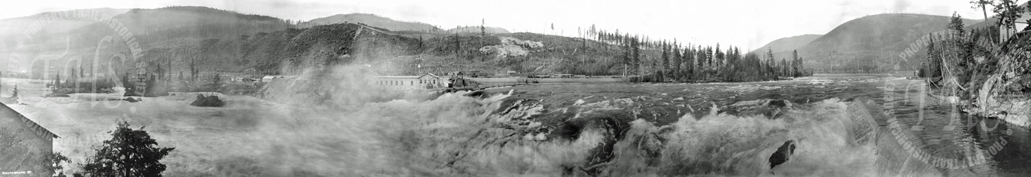 General View of Upper Falls & Power House No.2 Bonnington (Carpenter) - Ca. 1906