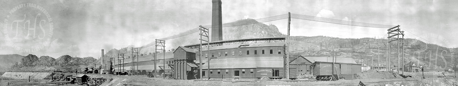 General view of smelter at Grand Forks, Granby Consolidated Mining, Smelting & Power Co. Ltd. (Carpenter) - Ca. 1906