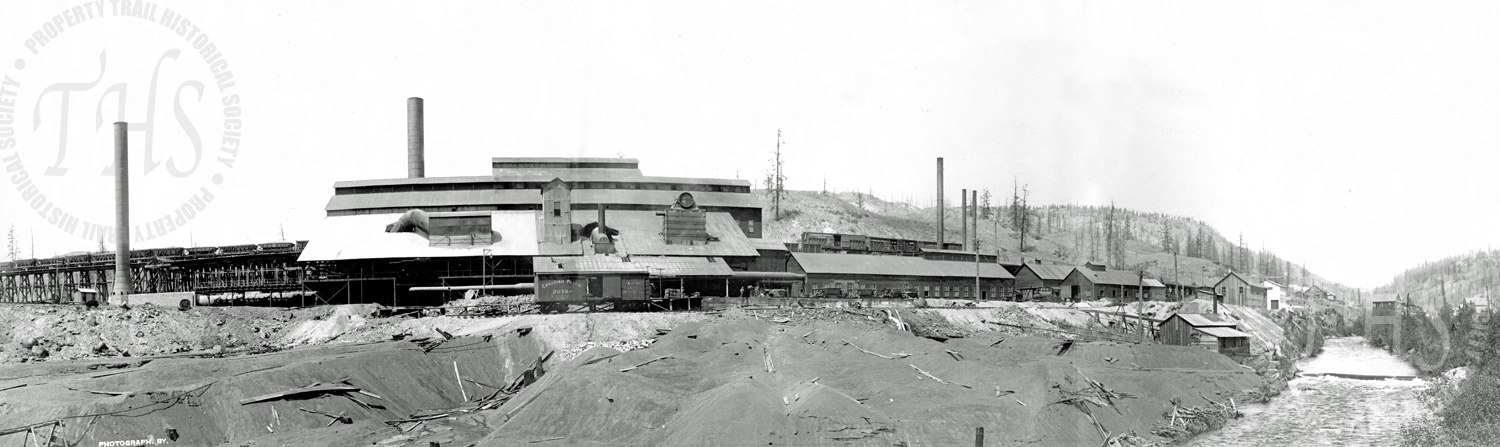 Dominion Copper Co.'s Smelter, Boundary Falls (Carpenter) - Ca. 1906
