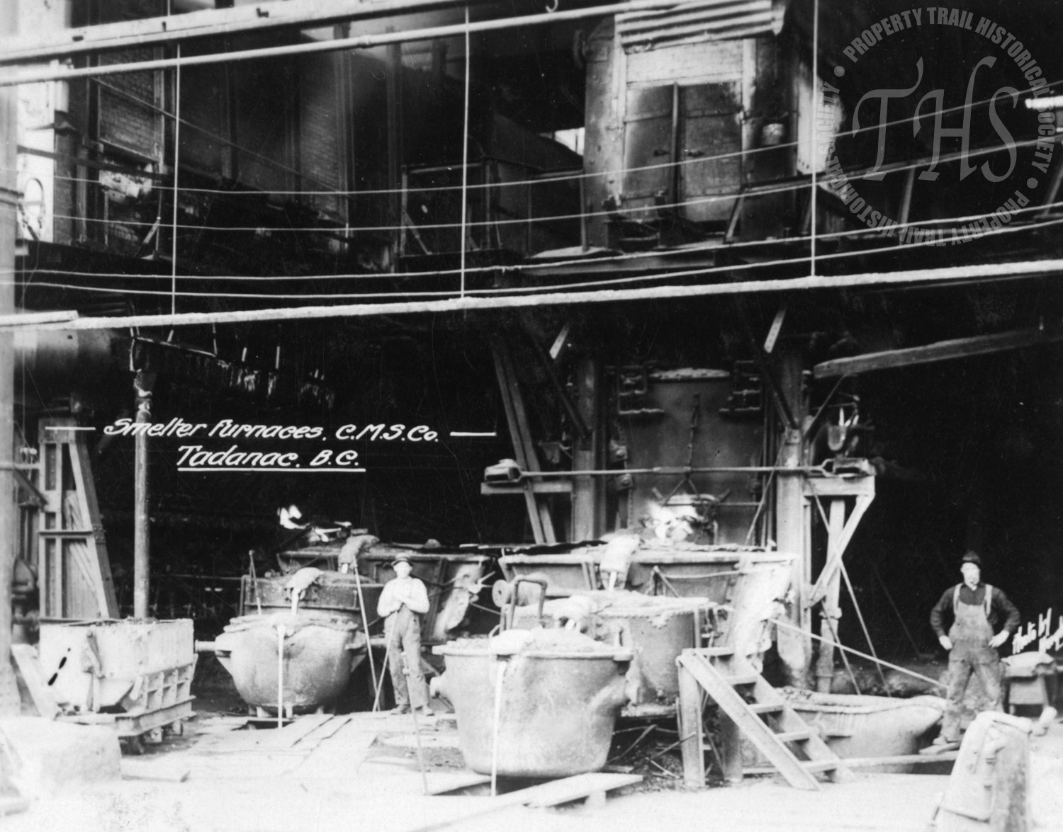 Trail Smelter furnaces (Hughes)- 1920