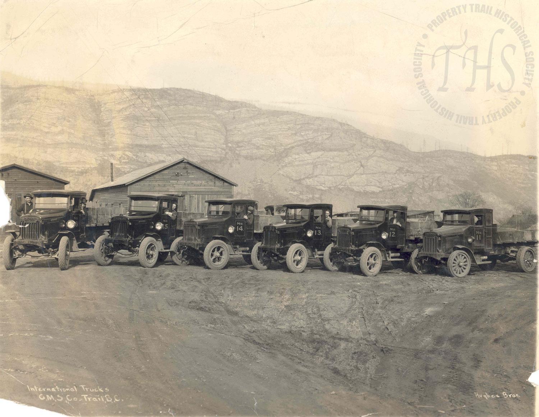 Cominco International Truck Fleet (Hughes) - 1922