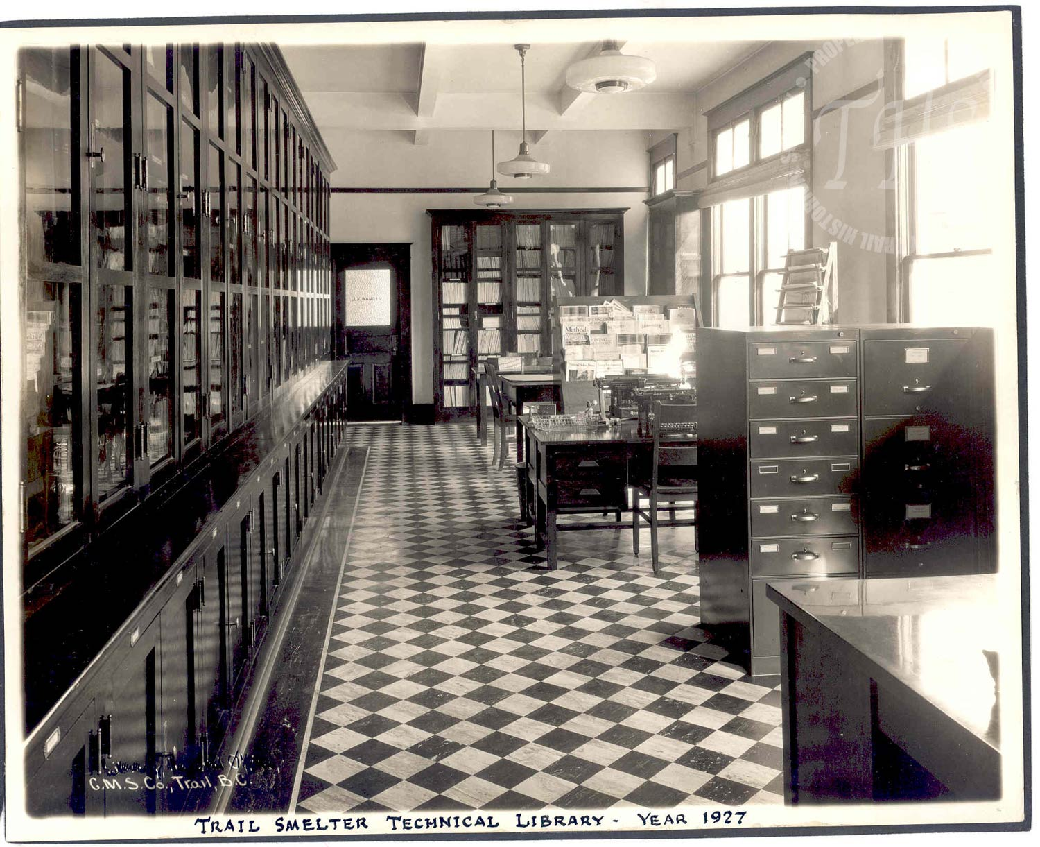 Trail Smelter Technical Library (Hughes) - 1927