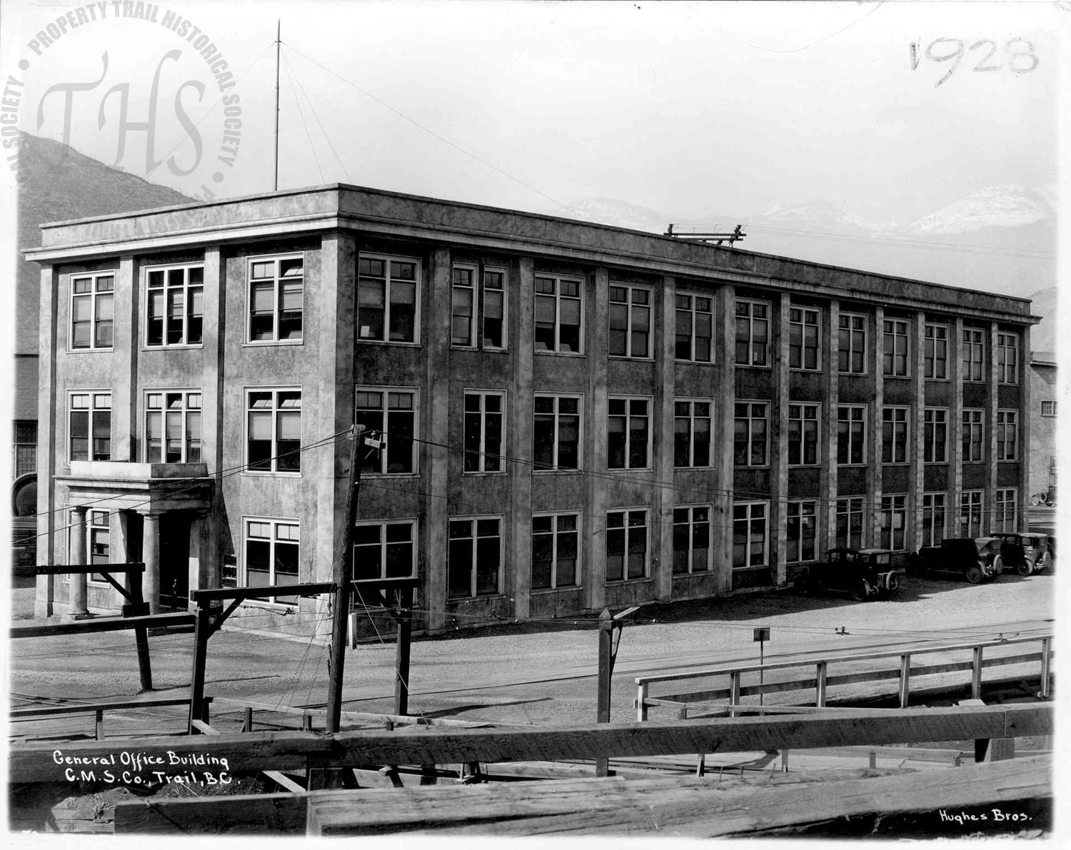 General Manager's office (exterior) (Hughes) - 1928