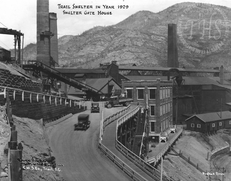 Smelter gatehouse (Hughes) - 1929