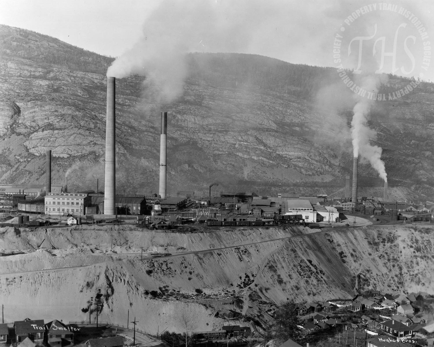 Smelter from West Trail (Hughes) - 1930