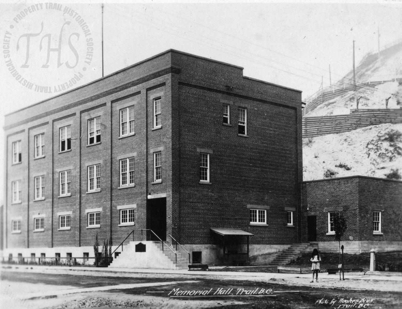 Trail Memorial Hall and Legion (Hughes) - 1930
